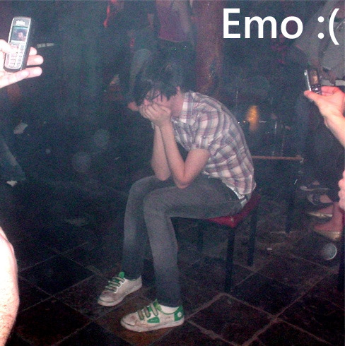 What's up with Emo people? Seriously. Here is my impression of them in one