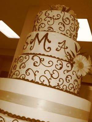 sepia cake
